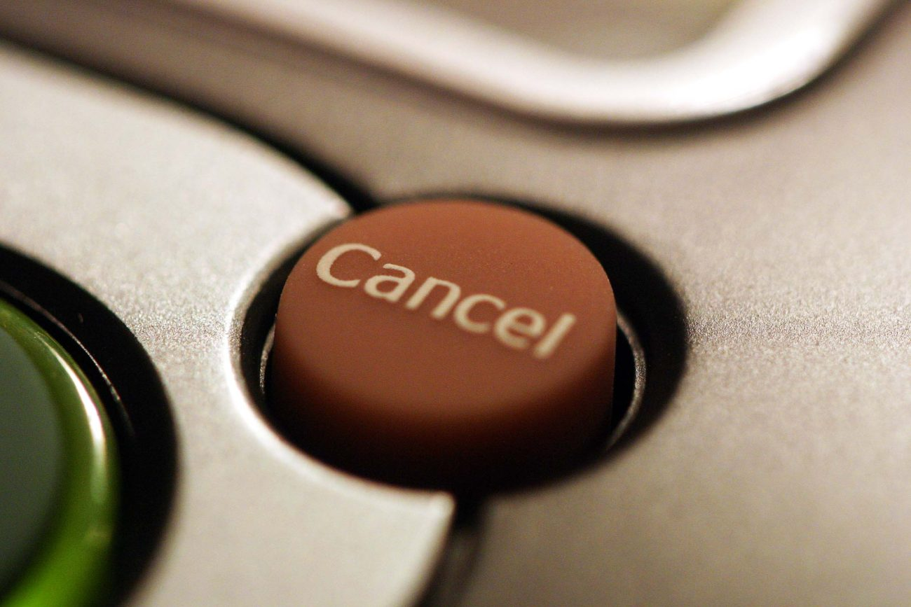 Cancelling your broadband contract
