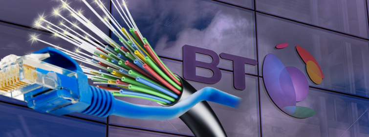 BT fined record £42m for delays installing broadband