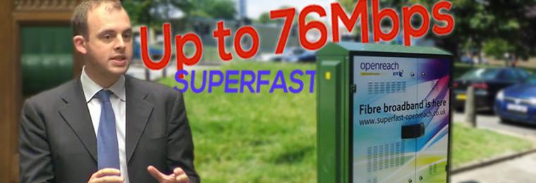 Matt Warman MP composite superfast broadband header