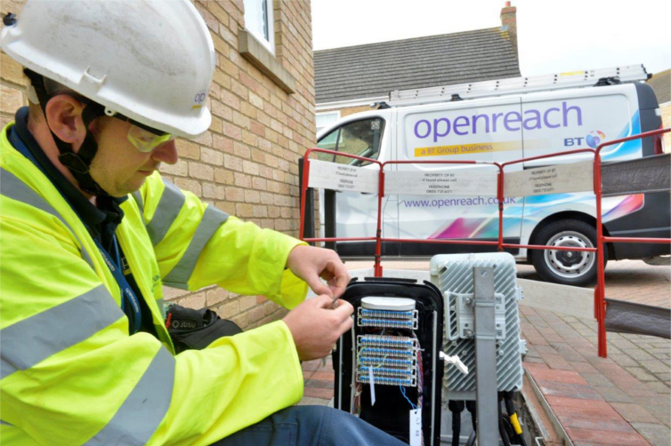 Openreach engineer BT dispute