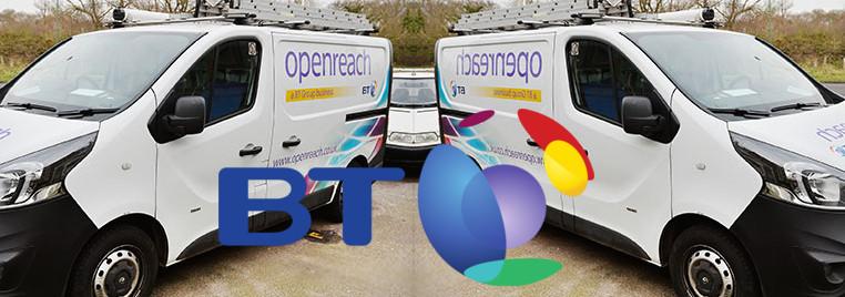 BT Openreach split