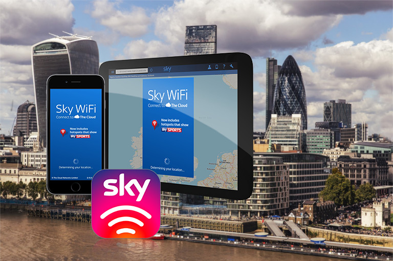 Free 1Gbps London public WiFi - but only for Square Mile - Sky WiFi