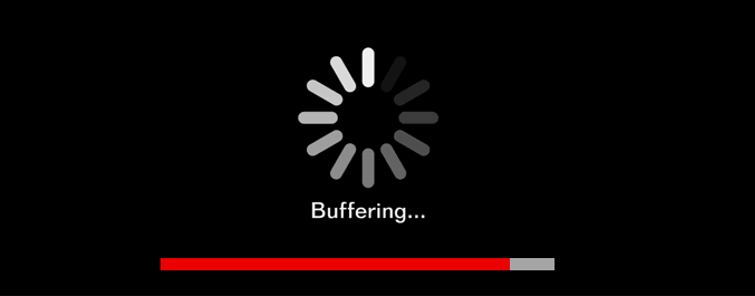 How does the internet work? Buffering
