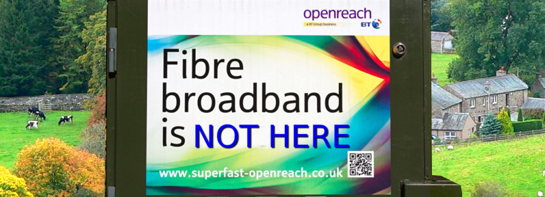 What if I can't get fibre broadband near me?