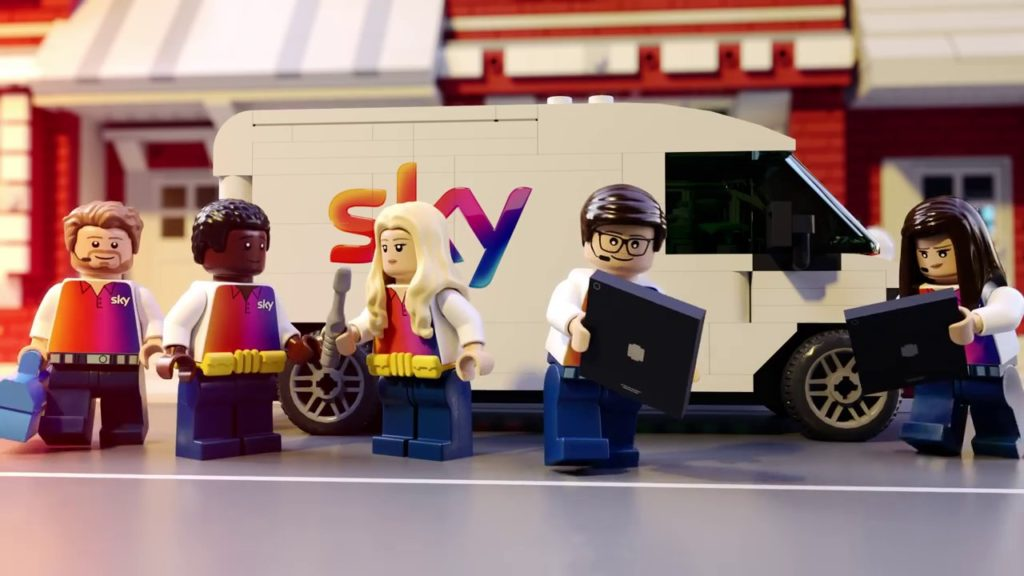 Sky BroadbandLego Batman ad backfires for 'misleading' claims 1