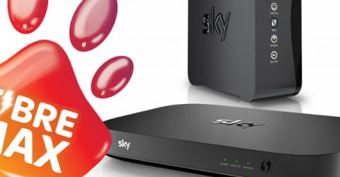 Get cash back, free cancellation if Sky Fibre falls below 55Mbps