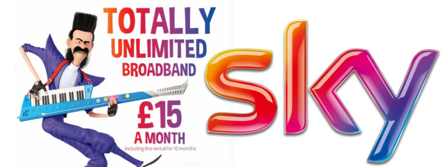 Mega price drop on Sky Broadband Unlimited to £15/month