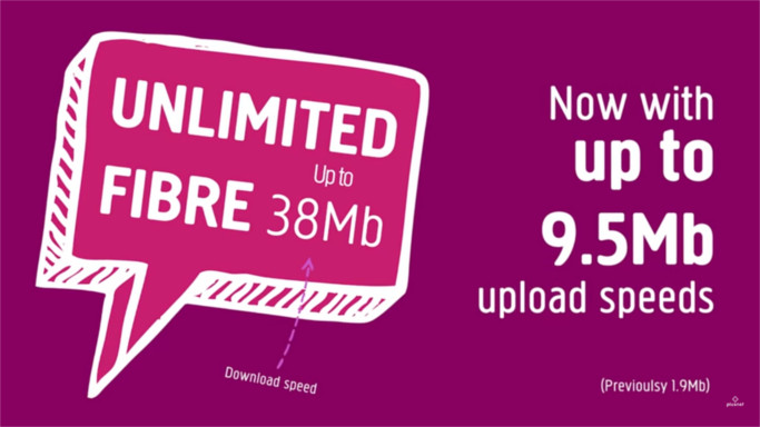 Plusnet boosts Unlimited Fibre upload speed to 9.5Mbps 1