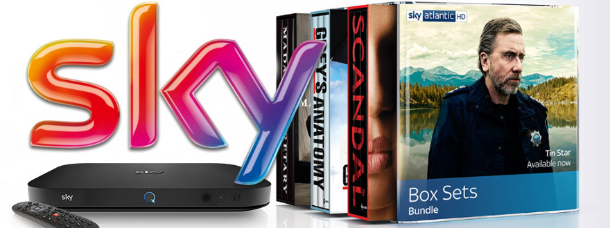 Two day flash sale on Sky Box Sets