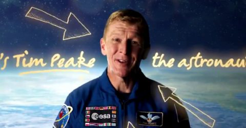 Astronaut Tim Peake complains about crappy broadband in space
