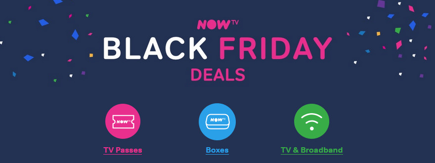 Black Friday deals: NowTV joins broadband price drop