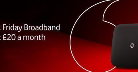 Black Friday broadband deals: Vodafone £20 fibre