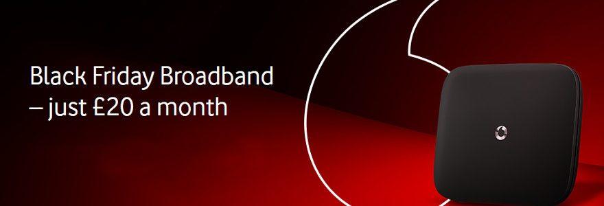 Black Friday deals: Vodafone £20 fibre is back