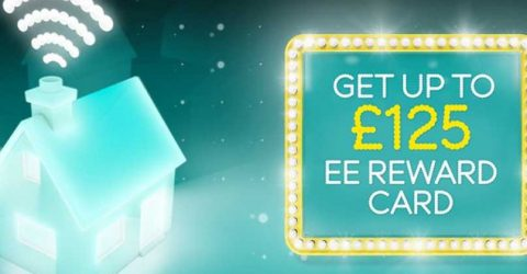 EE Black Friday deals: £50-£125 Reward Cards with broadband