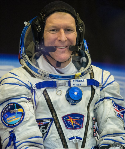 Tim Peake complained about the crappy broadband in space