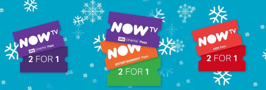 Double deals on NowTV Entertainment, Sky, Kids passes