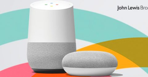 Until Dec 13: Free Google Home with John Lewis Broadband