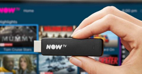 NOW TV launches Roku-powered Smart TV Stick