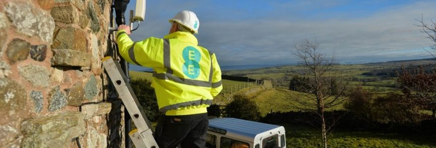 The real solution to slow rural internet? EE turns on 4G home broadband masts