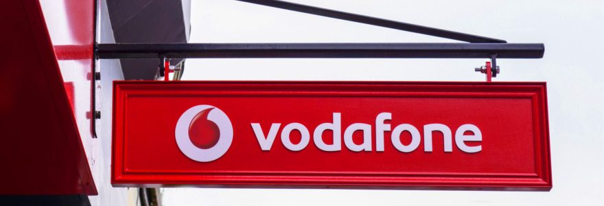 Third quarter results for Vodafone show sales slump