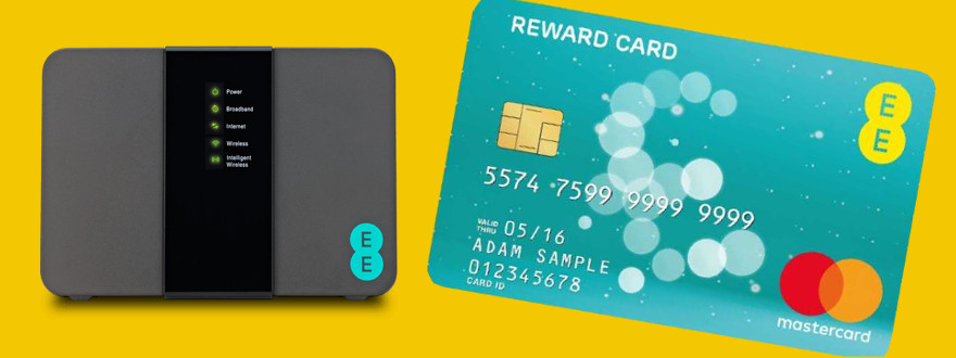 EE broadband deals and TV offers up to £125 Reward Cards