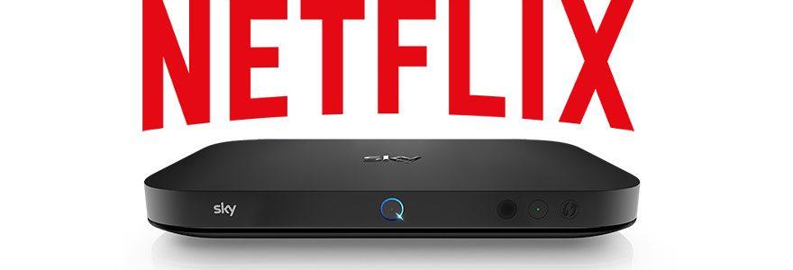 Watch Netflix on Sky Q with major update