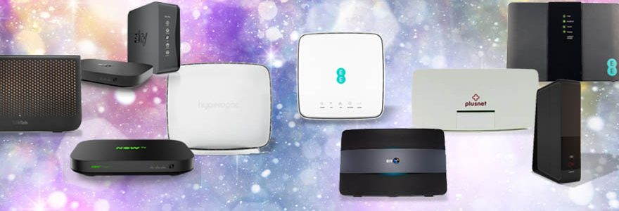 Which broadband provider has the best router?