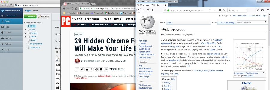 The best and worst web browsers