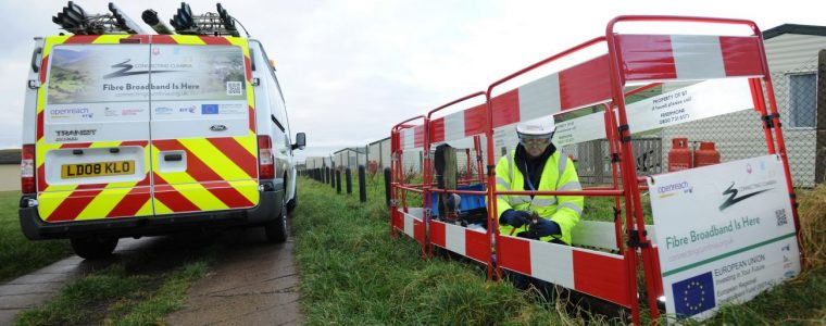 Openreach names further 81 locations for Gfast