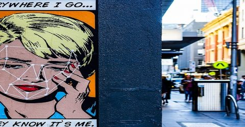 face recognition pop art lichtenstein graffiti