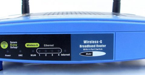 a wifi router