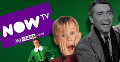 nowtv sky cinema pass with christmas movies