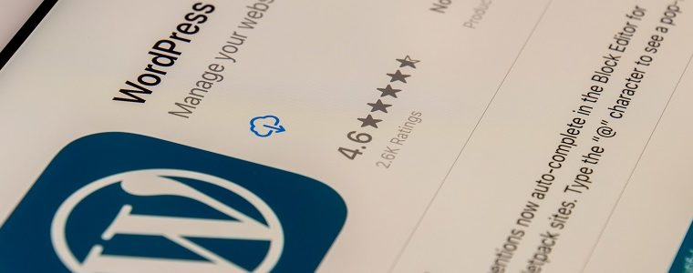 WordPress has been used to build 40 per cent of the world's websites